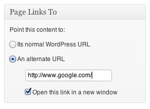 Wtyczka Page Links To