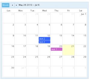 CP Multi View Event Calendar